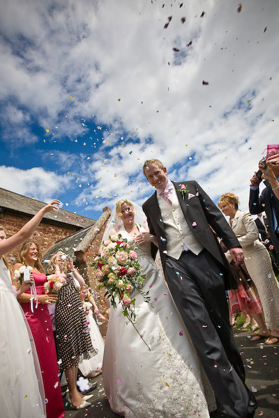 Exminster, Exeter Wedding Photo