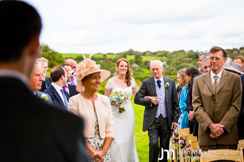 Ali and Andy Johnson's Trevenna Wedding - 22nd September 2012.  By Devon Wedding Photographer, John Miles Photography
