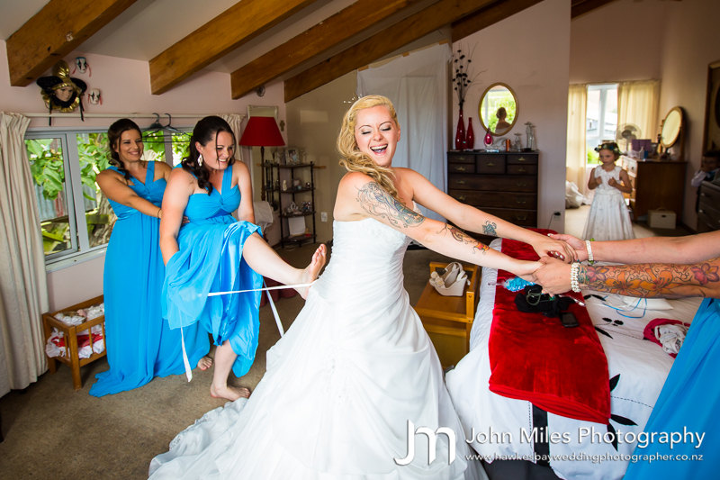 Cassie and Glen Bath's Hawkes Bay Wedding Photographs - by Havelock North Wedding Photogapher John Miles Photography