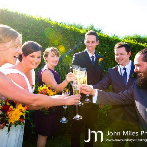 simon and alison francis wedding at the old church by hawkes bay wedding photographer john miles