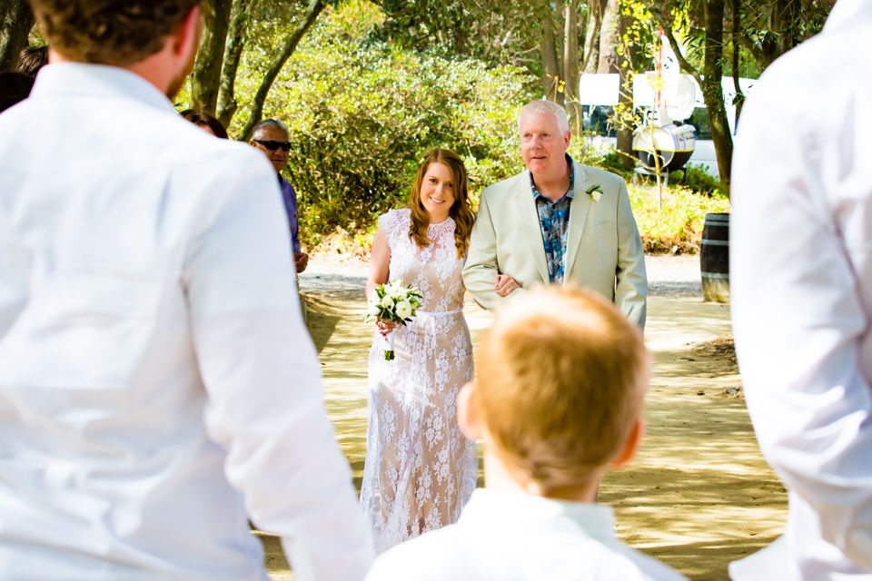 Niall & Emma Allen's Hawke's Bay Wedding at Clearview Estate Winery. By Hawke's Bay Wedding Photographer John Miles