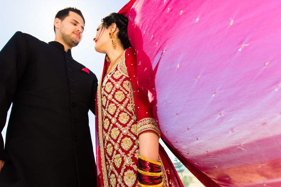 Usman & Virda Naider's Pakistani wedding at East Pier, Napier by Hawke's Bay Wedding Photographer John Miles Photography