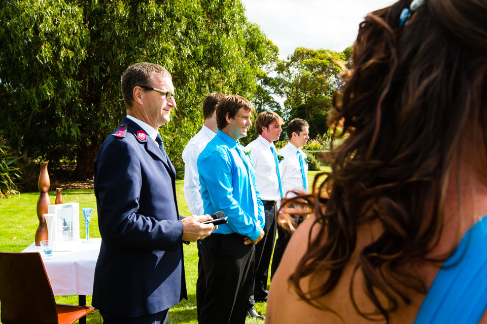 Cassie and Glen Bath's Hawkes Bay Wedding Photography - 01/03/14 - Off The Track, Havelock North by Hawkes Bay Wedding Photographer John Miles