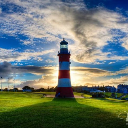 Smeaton's Tower by John Miles Photography